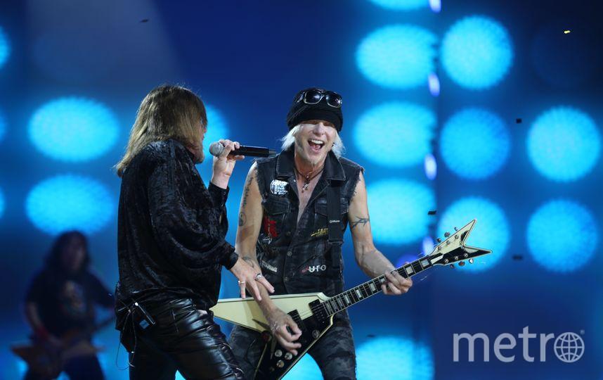 Немецкий хард-рок и хэви-метал гитарист, основатель группы Scorpions — Michael Schenker. Фото Андрей Федечко.