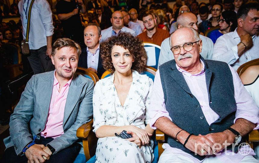 Артем Михалков, Ксения Раппопорт и Никита Михалков. Фото Анна Темерина.
