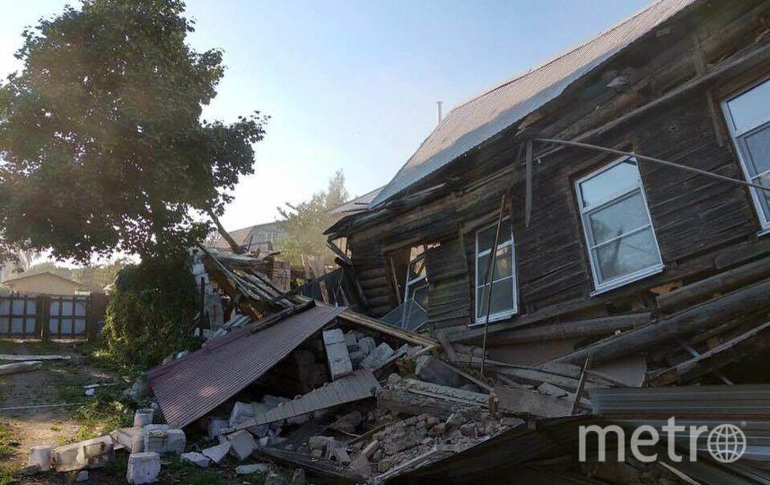 Фото с места взрыва в Красном Селе - Лермонтова, 46. Фото Мегаполис