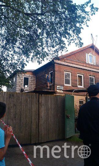 Фото с места взрыва в Красном Селе - Лермонтова, 46.