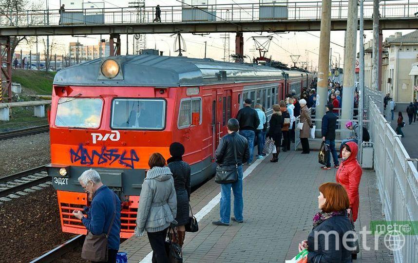 На Павелецком направлении МЖД задерживаются пассажирские поезда. Фото Василий Кузьмичёнок