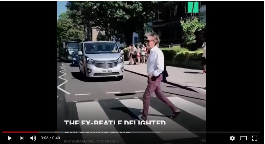 Пол Маккартни. Фото Скриншот Youtube