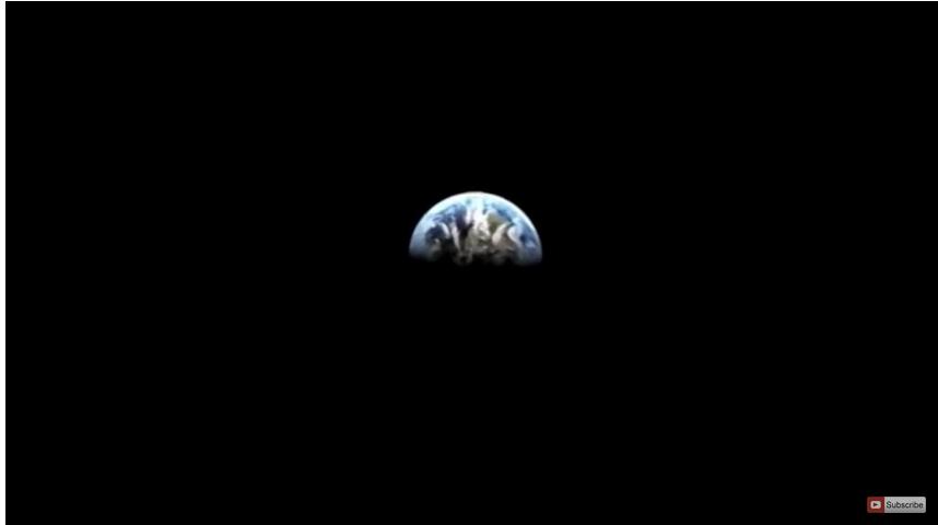 Кровавая Луна пугает землян. Фото Скриншот Youtube