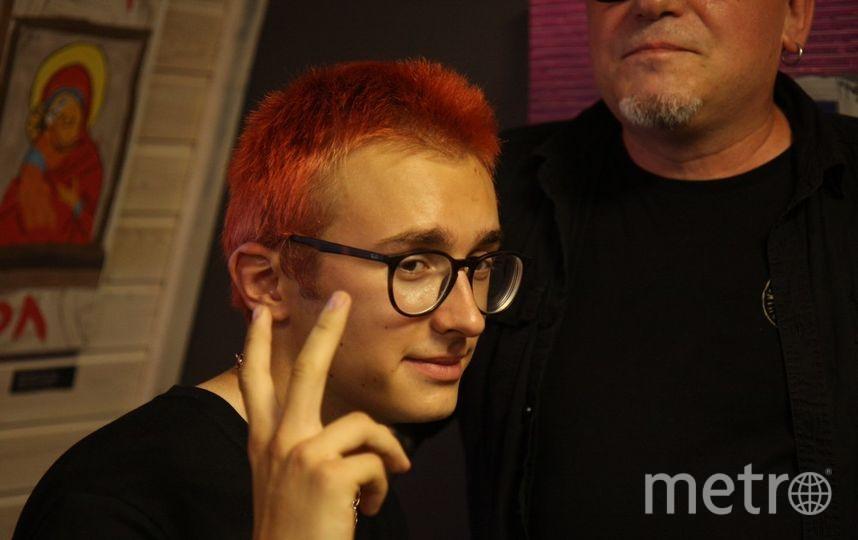 """Аполлон Шнуров хочет сделать революцию в искусстве. Фото Михаил Садчиков-младший, """"Metro"""""""