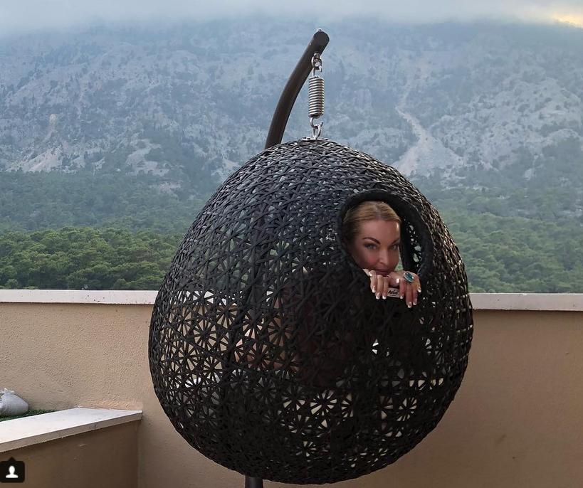 Анастасия Волочкова, фотоархив.