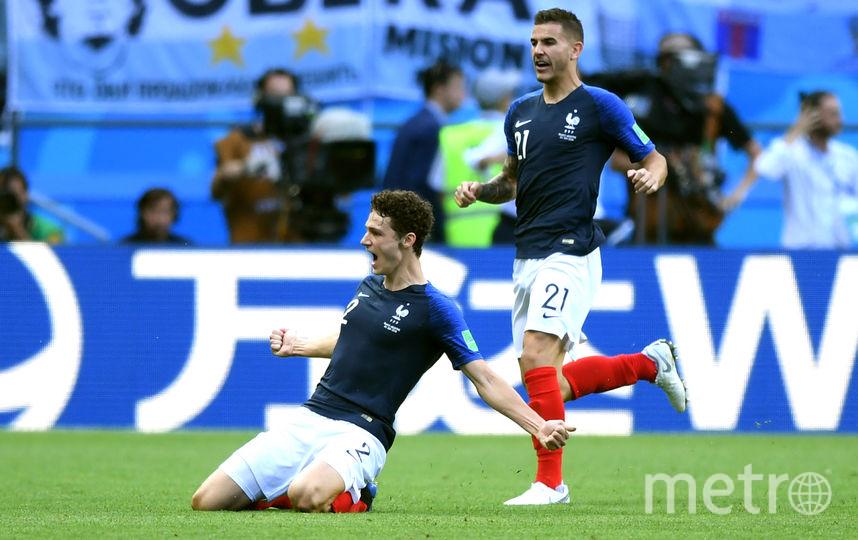 Гол француза Бенжамена Павара в ворота сборной Аргентины признан лучшим на чемпионате мира 2018 года