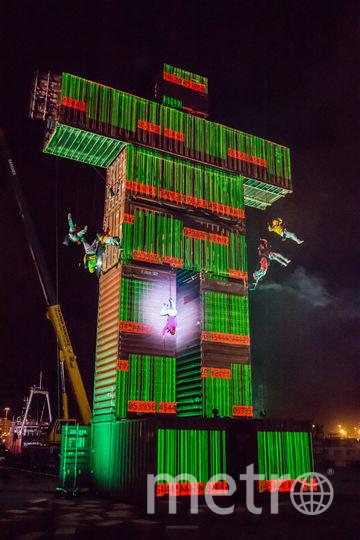 19-метровая фигура человека Omni захватила ВДНХ. Фото Предоставлено организаторами