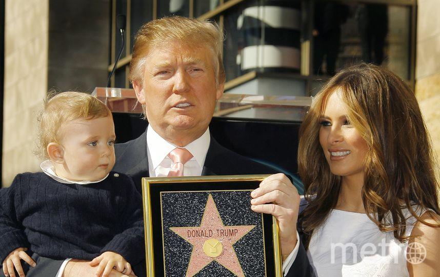 Звезду Трампа на аллее славы разрушили. Фото Getty