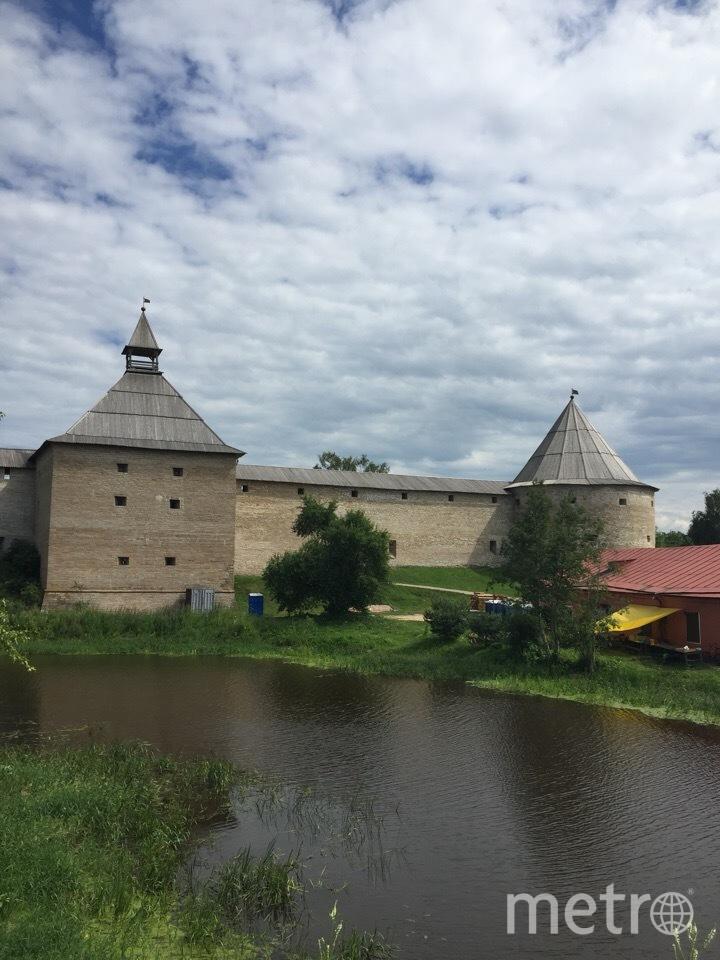 "Вид на Староладожскую крепость. Фото Карина Тепанян, ""Metro"""