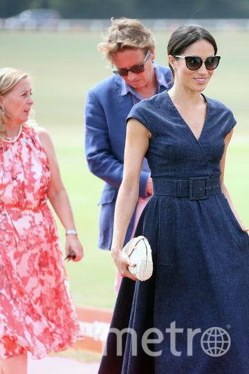Меган Маркл пришла поддержать супруга. Фото Getty