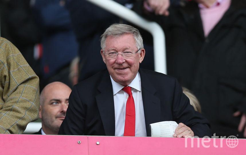 """Бывший тренер """"Манчестер Юнайтед"""" Алекс Фергюсон. Фото Getty"""