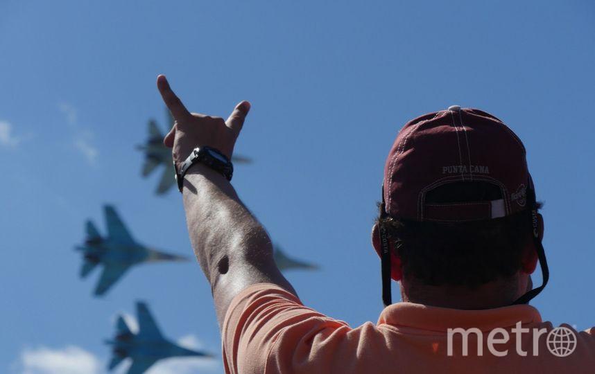 """4 и 5 августа авиационная группа высшего пилотажа """"Русские Витязи"""" устроит захватывающее авиашоу. Фото Предоставлено организаторами"""