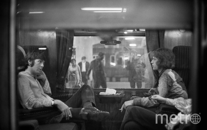Мик Джаггер и Пол МакКартни. Фото Getty