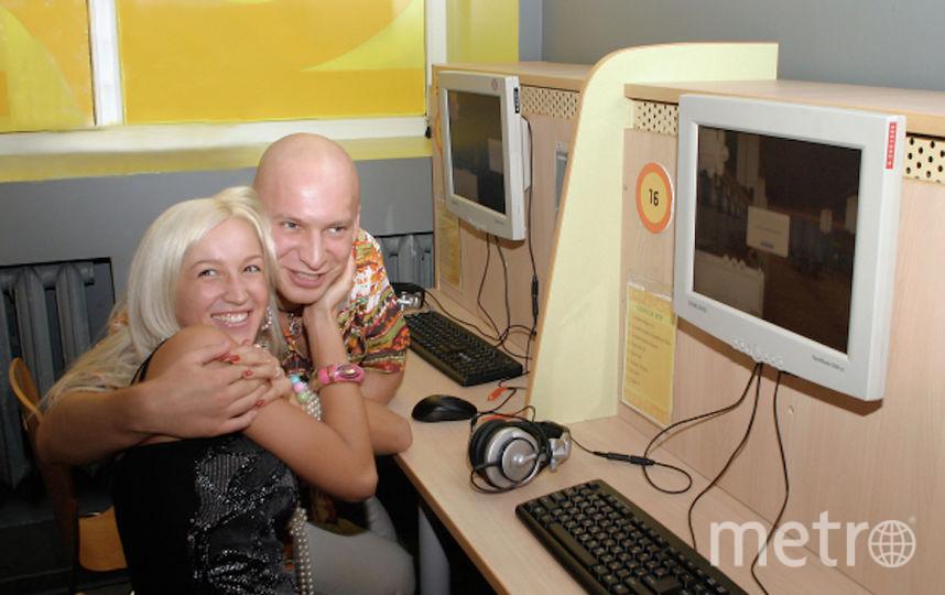 Архивные фото участников проекта Дом-2. Фото РИА Новости