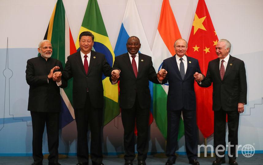 Лидеры стран БРИКС приняли Йоханнесбургскую декларацию