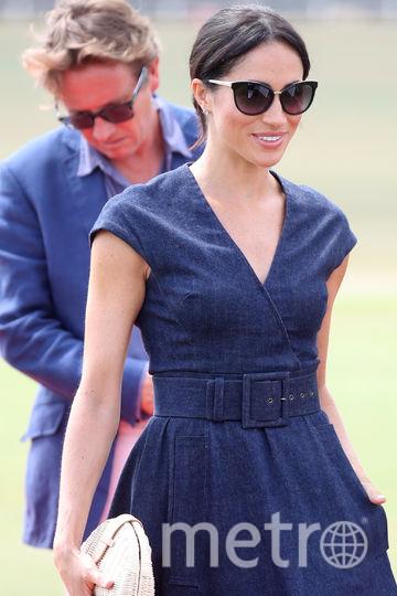 Меган Маркл и принц Гарри на благотворительном матче. Фото Getty