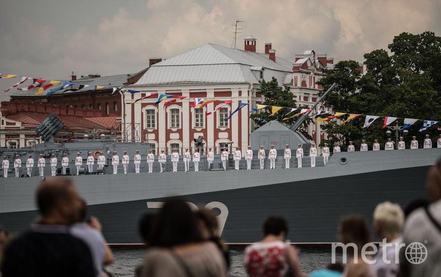 """Репетиция парада к Дню ВМФ прошла 26 июля. Фото Святослав Акимов, """"Metro"""""""
