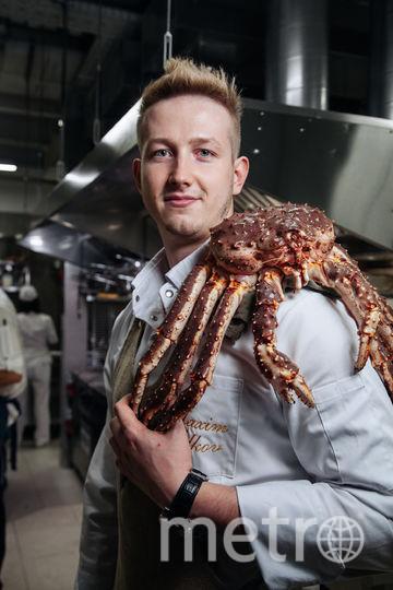 Шеф-повар ресторана Mad Cook Максим Волков. Фото Предоставлено пресс-службой заведения