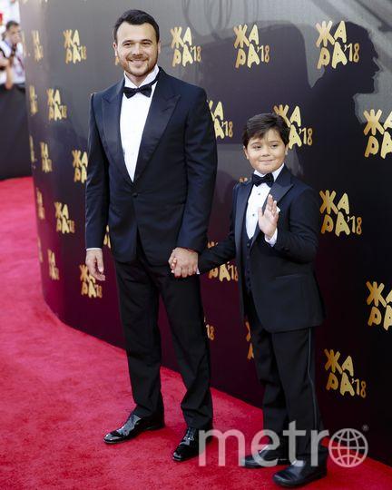 Эмин Агаларов с сыном. Фото Предоставлено организаторами