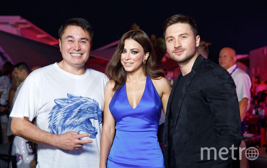 Сергей Лазарев, Анни Лорак и Арман Давлетьяров. Фото Предоставлено организаторами