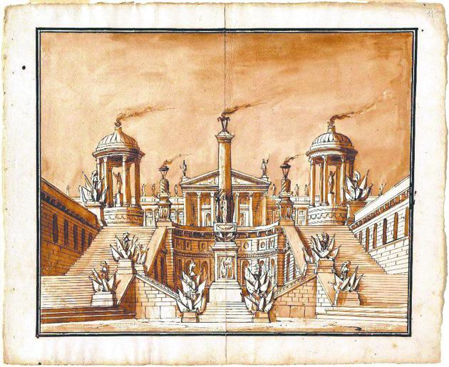 """Выставка """"Гипноз пространства. Воображаемая архитектура. Путь из древности в сегодня"""". Фото Предоставлено организаторами"""