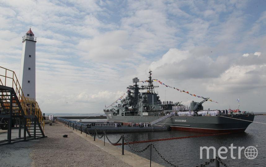 ВКронштадте миноносец «Беспокойный» переквалифицировали вмузей