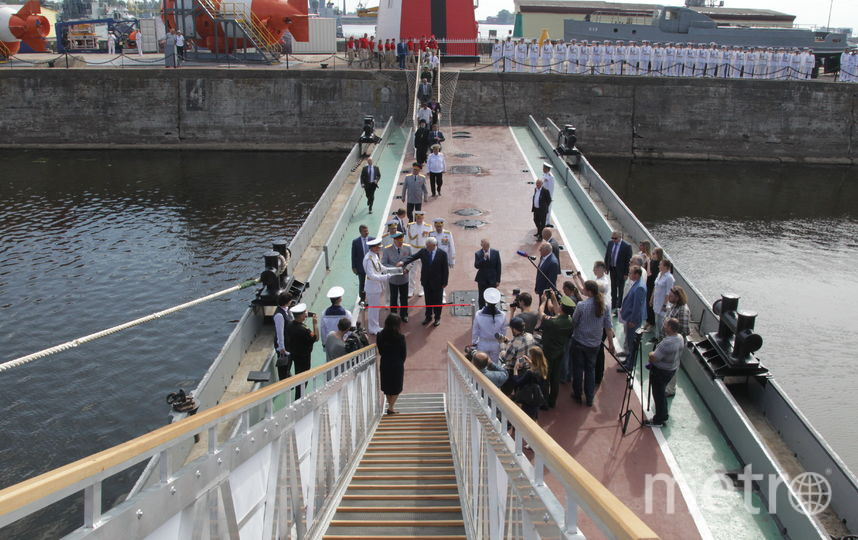 """Эскадренный миноносец """"Беспокойный"""". Фото gov.spb.ru"""