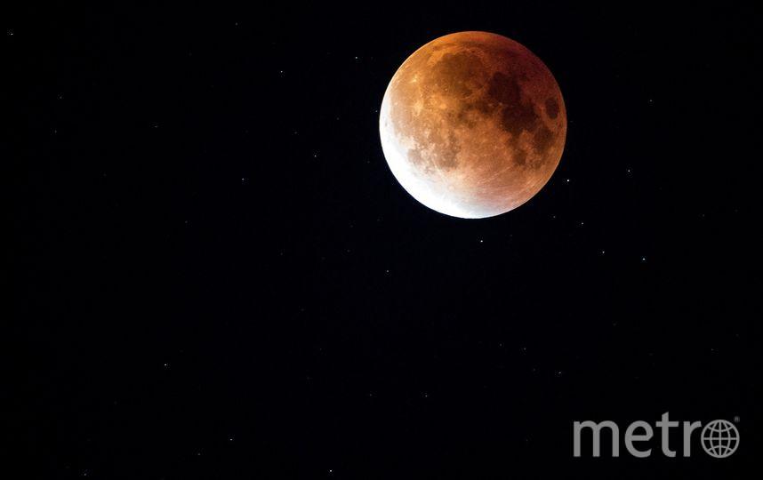 Лунное затмение. Фото Pixabay