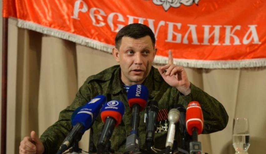 Глава ДНР Александр Захарченко. Фото РИА Новости