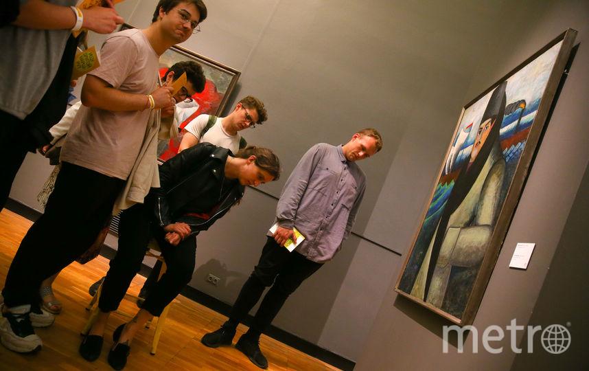 Студенты отобрали 20 картин и придумали несколько способов побудить посетителей по-новому на них взглянуть. Фото Василий Кузьмичёнок