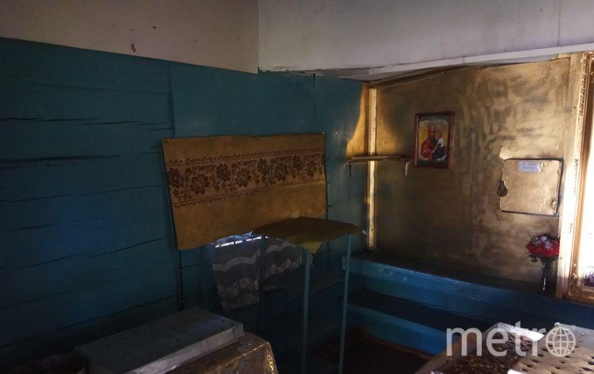 """Часовня Святого целителя Пантелеймона. Внутреннее убранство. Фото Дарья Есенина., """"Metro"""""""