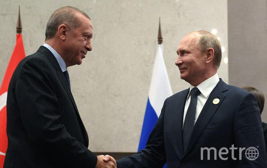 Владимир Путин и Реджеп Тайип Эрдоган. Фото AFP