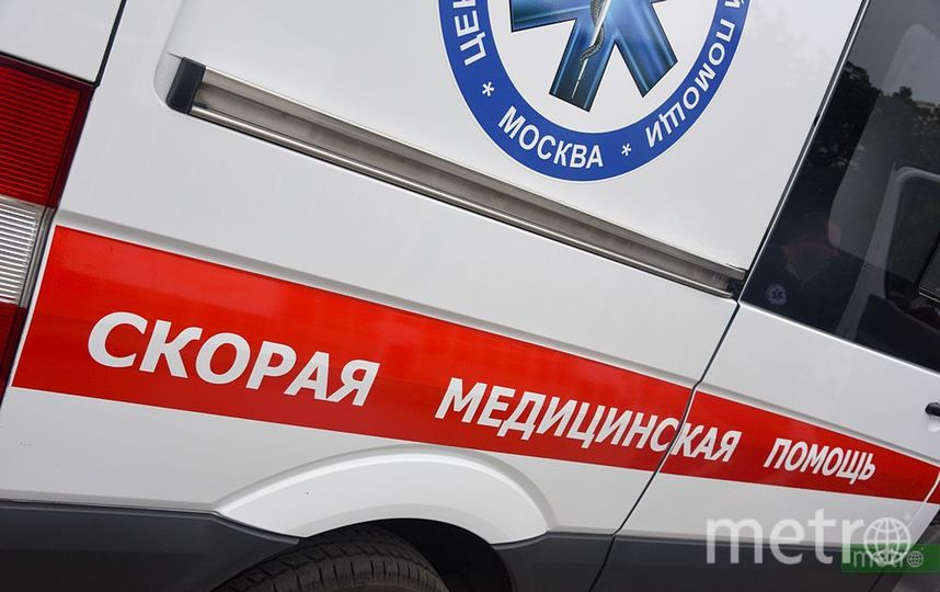 Рейсовый автобус перевернулся в Подмосковье. Фото Василий Кузьмичёнок