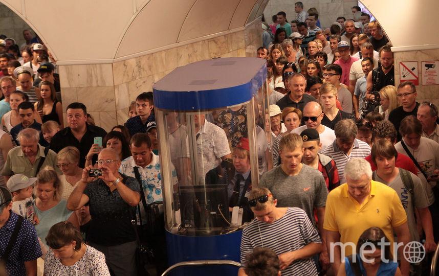 """Парад в День ВМФ в Петербурге. Фото Святослав Акимов., """"Metro"""""""