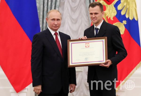 Владимир Путин с Денисом Черышевым. Фото РИА Новости