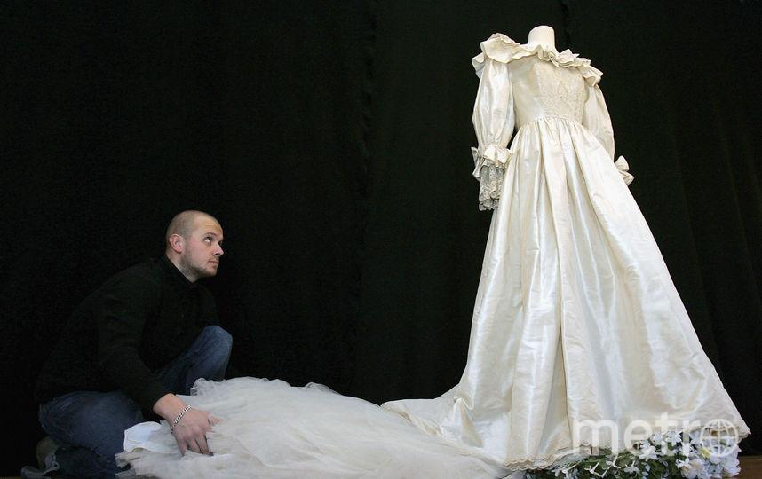 Свадебное платье принцессы Дианы, фотоархив. Фото Getty