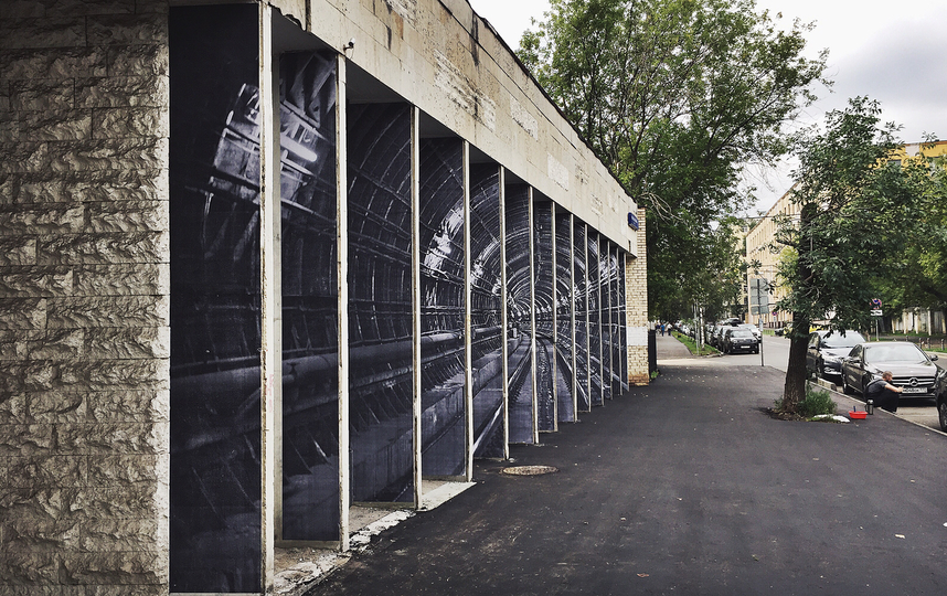 Надземная подземка: реалистичный стрит-арт с тоннелем метро. Фото https://www.instagram.com/zoomstreetart/?hl=en