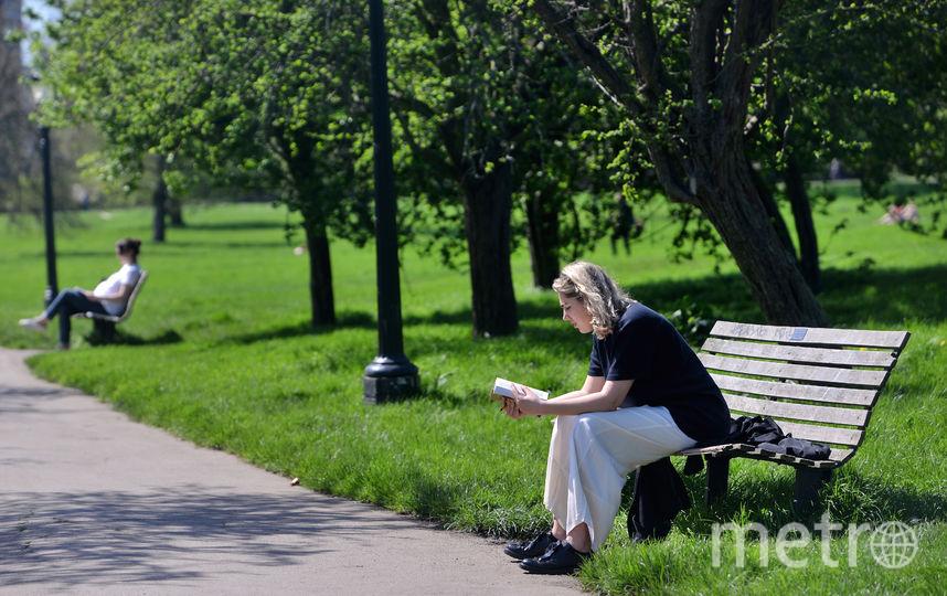 Жара в Петербурге пока не отступает. Фото Getty