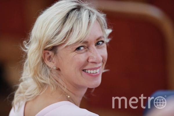 Представитель МИД РФ Мария Захарова написала песню для Кати Лель. Фото РИА Новости