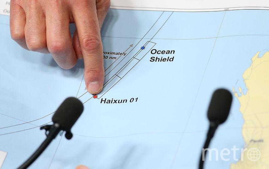 Поисковые операции пропавшего малайзийского Boeing. Фото Getty