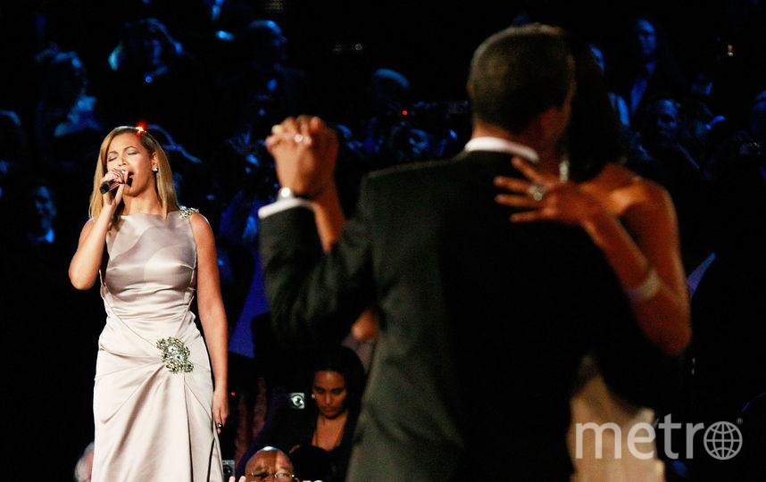 Мишель и Барак Обама посетили концерт Бейонсе. Фото Getty