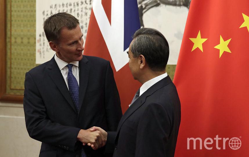 Джереми Хант во время официального визита в Китай. Фото Getty