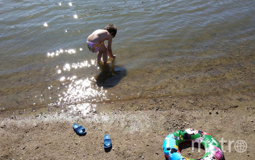 """В водоёме купаются семьями. Фото Святослав Акимов, """"Metro"""""""