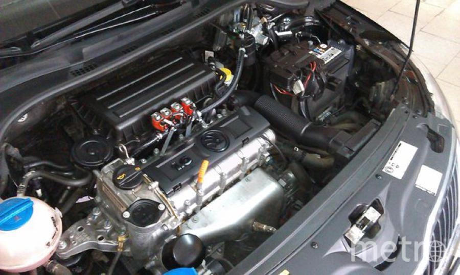 Так выглядит ГБО в газовом авто. Фото https://vk.com/gazivanych