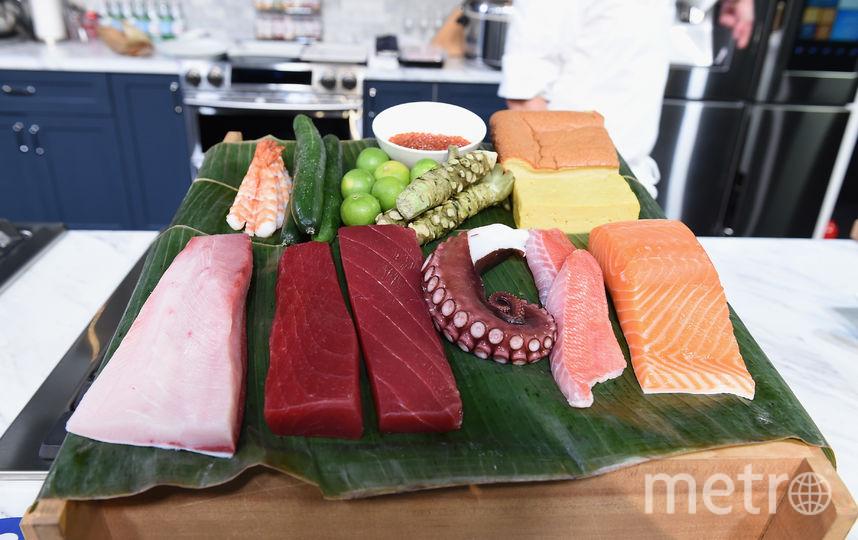 Суши и роллы. Фото Getty