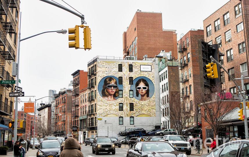 Реклама от Ignasi Monreal в Нью-Йорке, в районе Сохо. Фото Предоставлено организаторами