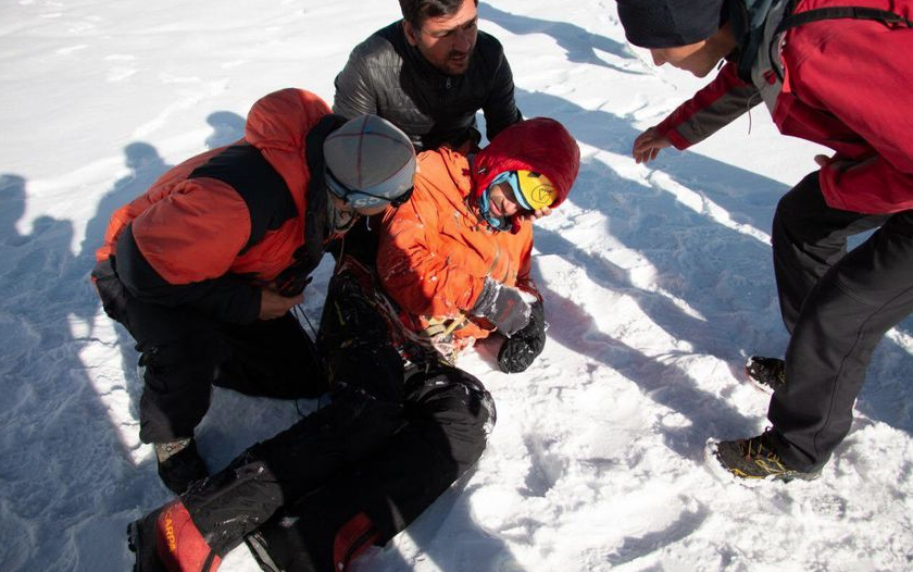 Экспедиция Александра Гукова едва не унесла сразу две жизни. Фото фото из соцсетей