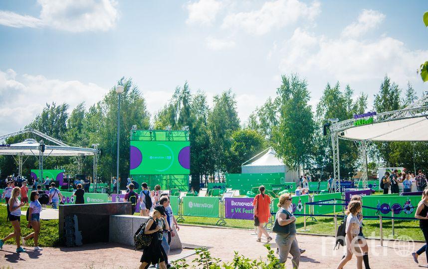 В Парке 300-летия Петербурга было еще интереснее.