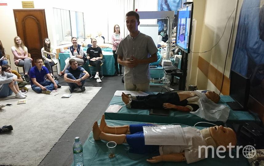 Обучение детей. Фото Пресс-служба Школы юного хирурга