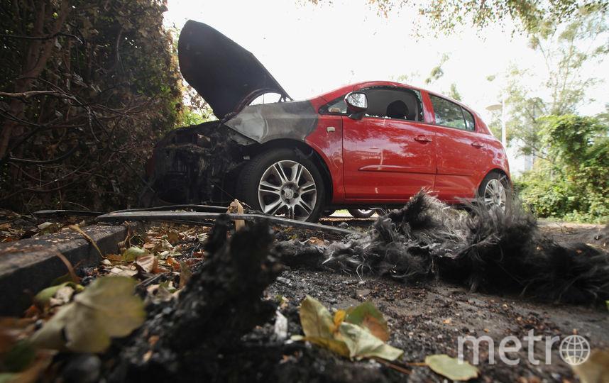 В Петербурге мужчина сжег знакомого, а затем сжег автомобиль и оружие. Фото Getty